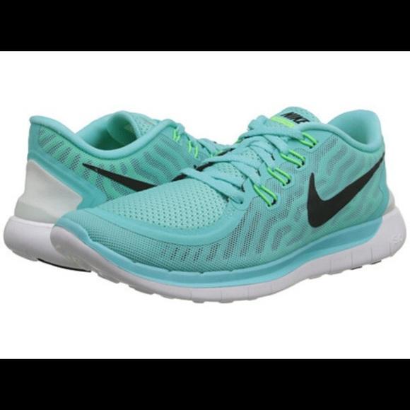 Nike Shoes | Nike Free Run 5 Mint Blue